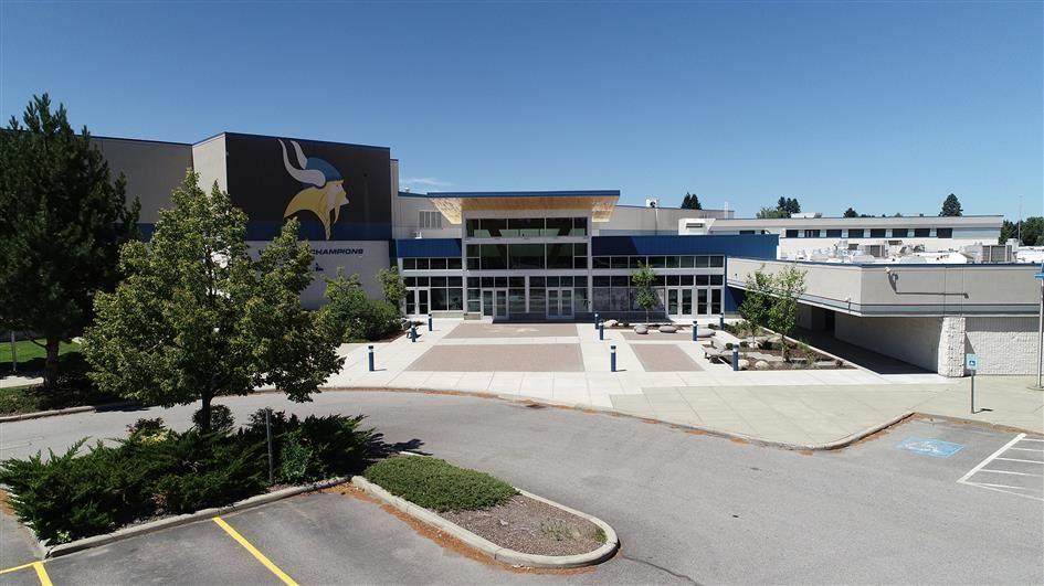 Coeur d'Alene High School Exterior