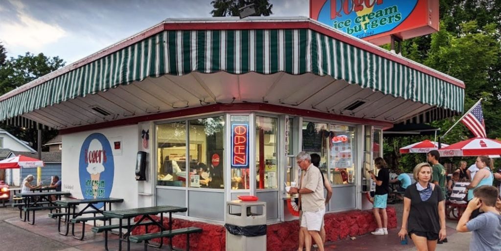 Roger's Burgers Sherman Ave Downtown Coeur d'Alene Exterior