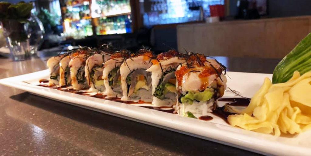 Kaiju Sushi Platter in Downtown CdA